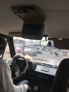 , Check out this danfo bus that has a DVD player in it (Photo), Effiezy - Top Nigerian News & Entertainment Website
