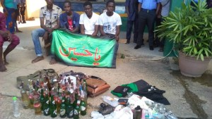 Weapons Found On Protesting Shiite Members In Abuja (Photos)