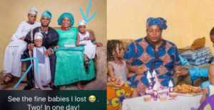 , Mother who lost her two kids in house fire posts troubling tweet about dying, Effiezy - Top Nigerian News & Entertainment Website