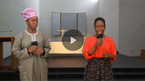 Hilarious Video Of How Nigerian Christians Give Testimony In The Church