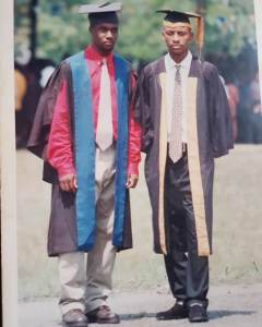 Yul Edochie Shares Throwback Photo of His Matriculation In University Of Port-Harcourt 1998