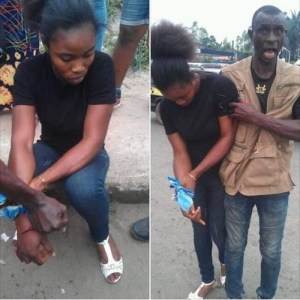 Security Operative Shoots Lady During Uche Nwosu's Event In Owerri. (Photos)