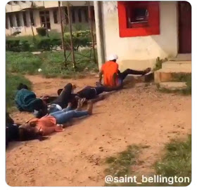 'Fall Down & Die Dance' Challenge Hits UNIBEN And UNIZIK Lecture Hall (video)