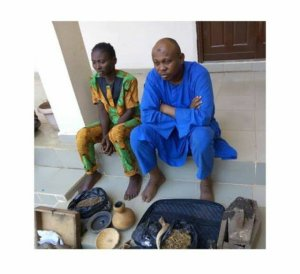 Herbalist And Hospital Attendant Steal Baby's Placenta In Kwara