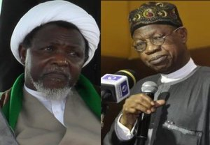 """FG spends N3.5m Monthly to feed Shi'ite leader, Ibrahim El-Zakzaky"""" – Lai Mohammed (video)"""