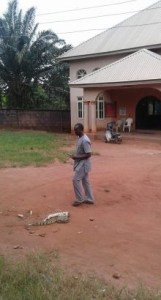 Nnewi-based Pastor claims two snakes started fighting after hot prayer session (Photos)