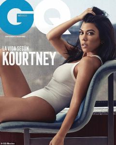 Kourtney Kardashian Strips NAKED For Her Very First GQ Mexico Cover Shoot (See Photos)