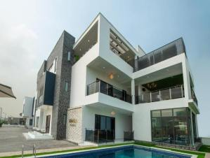 Check out Super Eagles striker Jude Ighalo's new Multi-Million Naira Mansion in Lekki (Photos)