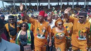 2019: See Photos From APGA Presidential Flag Off At Ekwueme Square Awka
