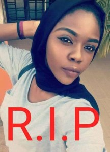 Nigerian Student, Aisha commits suicide on boxing day, leaves suicide note