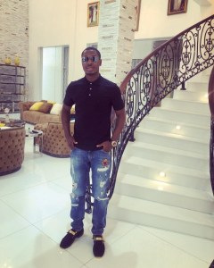 Odion Ighodalo opens mansion with car gift to wife