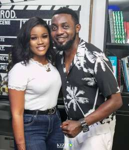 BBnaija's Cee-C Hangs Out With AY (Photo)