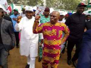 Ex-governor Nnamani Visits Enugu Government House For The First Time In 12 Years