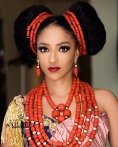 Wizkid's Ex Sophie Alakija Looking Admirable In Native Attire (Photo)