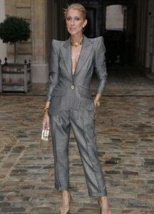 Celine Dion Looking Totally Different At Paris Fashion Show (Photos)