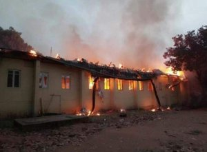 Fire Outbreak Rocks IMSU, Documents And Properties Destroyed (Photos)