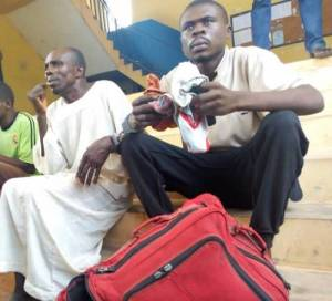 Man Caught After Stealing His Brother's Wife's Pants In Ondo (Photo)