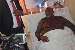 , Nigerians React As Senator Dino Melaye Speaks From His Hospital Bed, Effiezy - Top Nigerian News & Entertainment Website