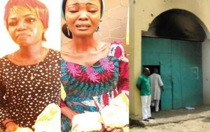 Sisters get caught attempting to smuggle drugs into Kuje prison, Abuja (Photo)