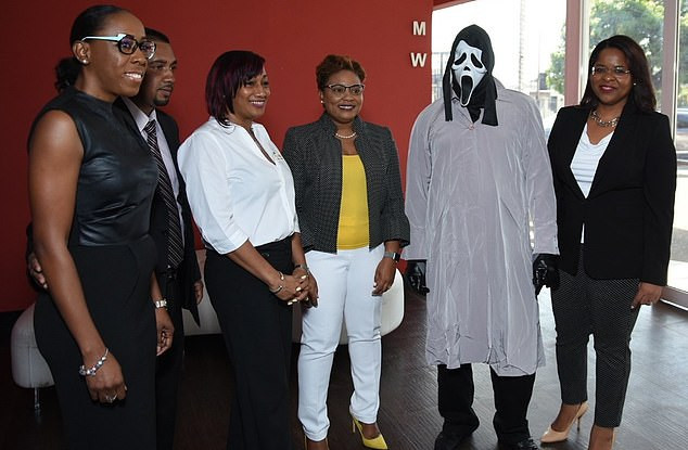 , LOL!! Lottery winner turns up in mask to claim his £1million prize to avoid recognition, Effiezy - Top Nigerian News & Entertainment Website
