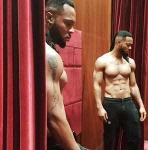 , Flavor Flaunts His Hot Body And Tattoos In Adorable Photos, Effiezy - Top Nigerian News & Entertainment Website