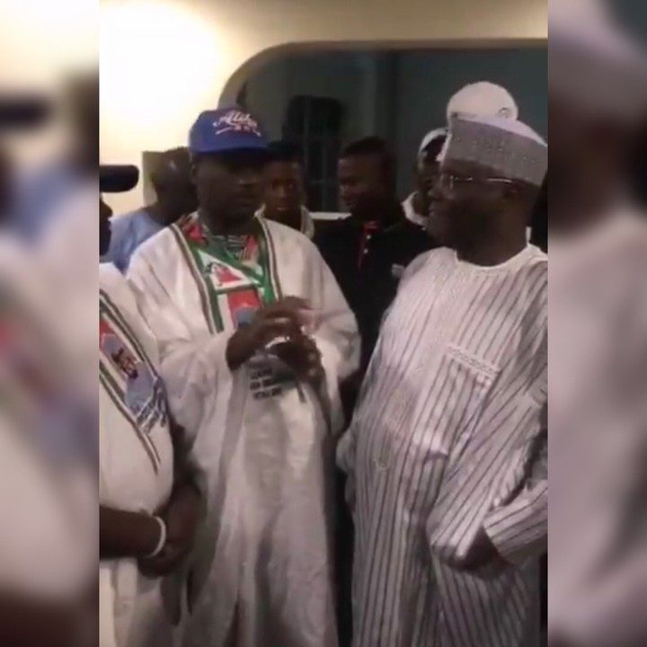 PDP Youth Leaders Updating Atiku On How They Paid 200K To Groups For Campaigns (Video)
