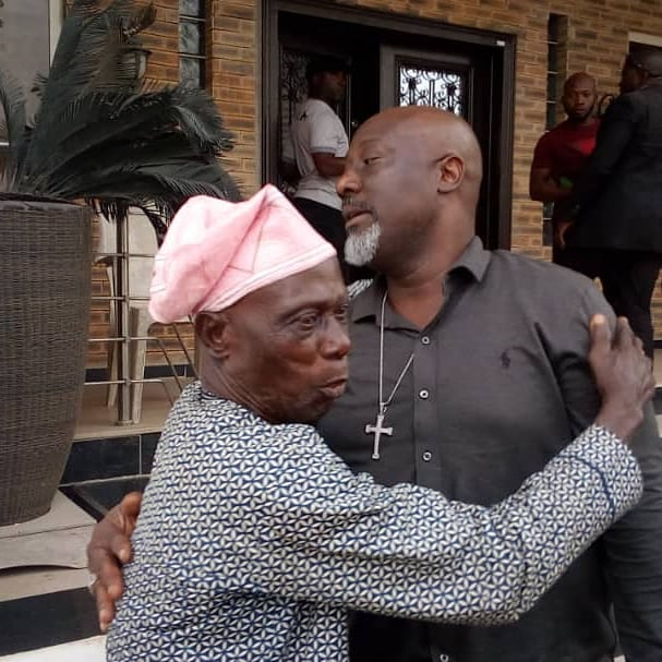 , Dino Melaye Hugs His Father In New Photo (Nigerians React), Effiezy - Top Nigerian News & Entertainment Website