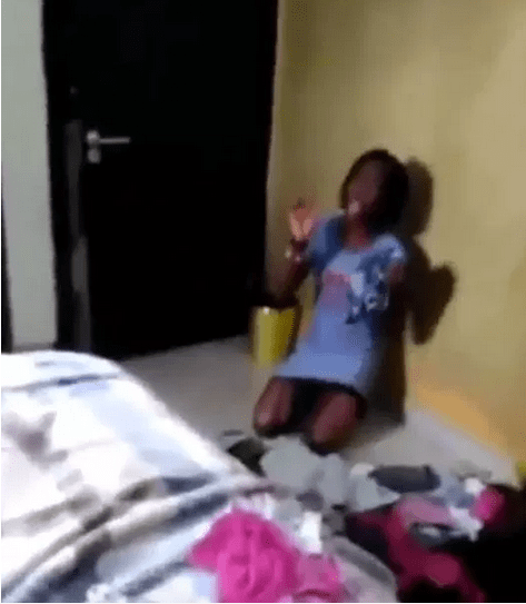 , Housemaid caught with 8 panties belonging to her madam and her madam's daughter (Video), Effiezy - Top Nigerian News & Entertainment Website