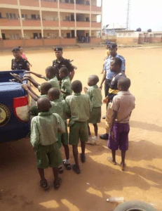 Primary School Pupils Initiated Into Cult Group In Lagos (Photo)