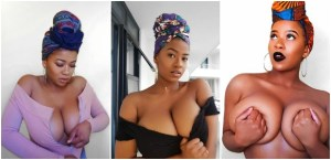 Bosom Movement Founder, Abby Chioma Goes Completely Nak3d On Instagram (See Photo)