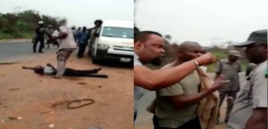 MADNESS: Customs officer shoot man dead over alleged N5000 bribe (VIDEO)