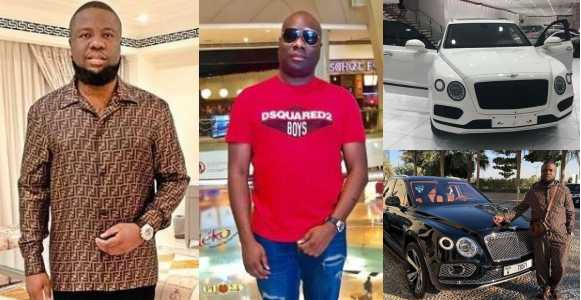, BEEF! Hours after Hushpuppi got himself a Bentley, Mompha shows off his new Bentley Bentayga (Photos), Effiezy - Top Nigerian News & Entertainment Website