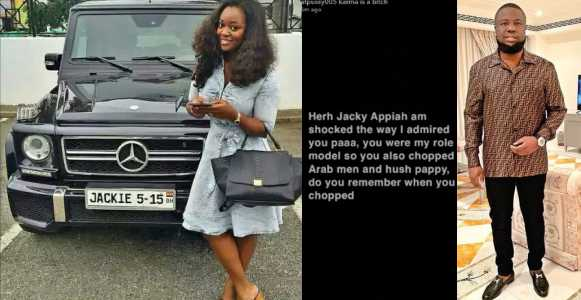 , Actress Jackie Appiah accused of sleeping with Hushpuppi and rich Arab men, Effiezy - Top Nigerian News & Entertainment Website