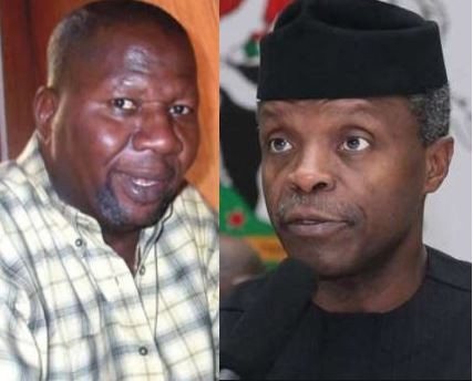 , Osinbajo Donates N1 Million To Baba Suwe For His Treatment, Effiezy - Top Nigerian News & Entertainment Website
