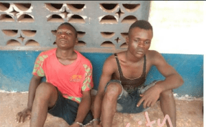 Cultists Arrested With Human Hand In Enugu During 'Peace Talk' (Graphic Photo)