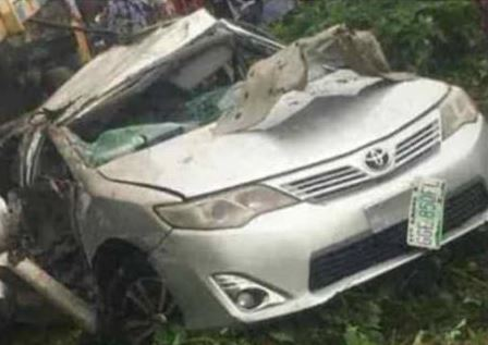 LAUTECH students accident, So Sad! Two LAUTECH Students Driving To School Die In Horrific Car Crash (Photos), Effiezy - Top Nigerian News & Entertainment Website