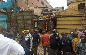 Another three-storey building collapses in Lagos.