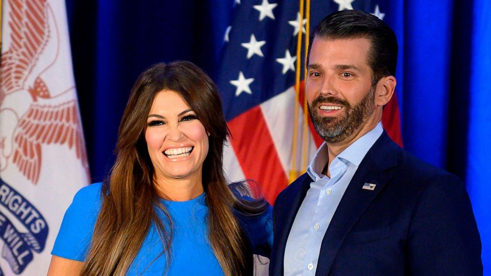 , Donald Trump Jr's girlfriend tests positive for COVID-19, Effiezy - Top Nigerian News & Entertainment Website
