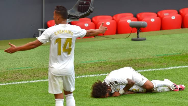 , Real Madrid's Marcelo could miss rest of season due to injury., Effiezy - Top Nigerian News & Entertainment Website