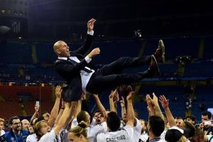 Zidane a blessing from heaven – Real Madrid president