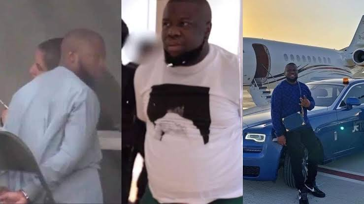 , Controversies as Hushpuppi's release from U.S prison causes uproar., Effiezy - Top Nigerian News & Entertainment Website