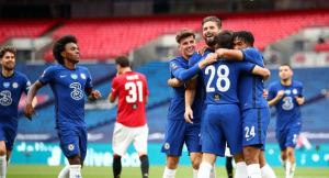 Chelsea knock out Man United to meet Arsenal in FA Cup final.