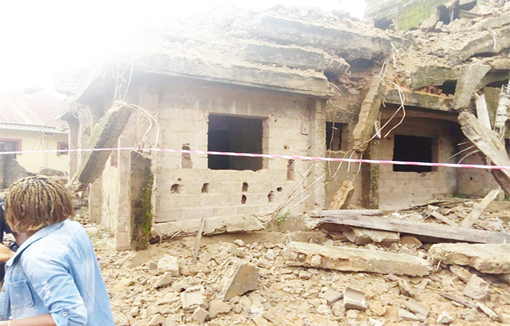 Twelve rescued from collapsed building in Kano