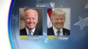 Biden leads Trump in poll by 9 points