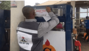 Authority in Oshodi-Isolo LG seals off gas station in Lagos