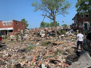 Several houses explode in US city of Baltimore, 1 dead, several critically injured