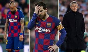 Champions League: Messi approves Setien's replacement after Barcelona's 8-2 defeat