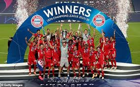 Bayern Munich win 2019/2020 UEFA Champions League with 1-0 Victory over PSG