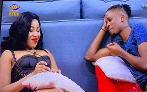 BBNaija 2020: Erica reconcile with Laycon after break-up with Kiddwaya