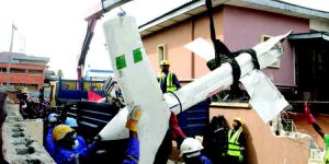 """They waited for police report until he died""""- lady mourns pilot of Lagos helicopter crash"""